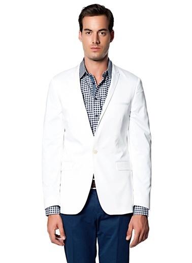 NetWork Ceket Beyaz